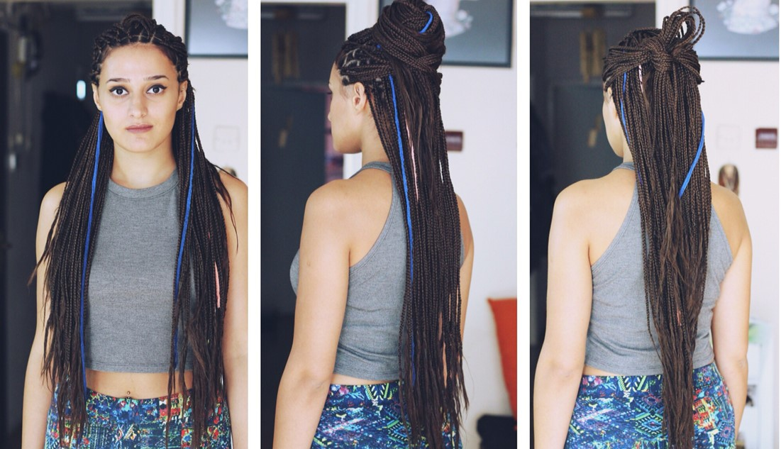 afrika saç örgü modelleri