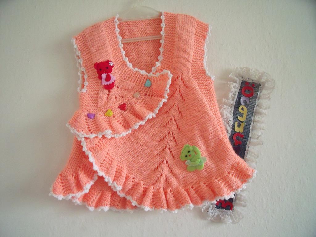 bebek yelek modelleri