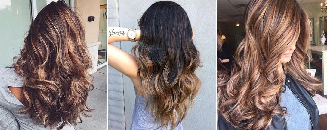 karamel ombre saç rengi
