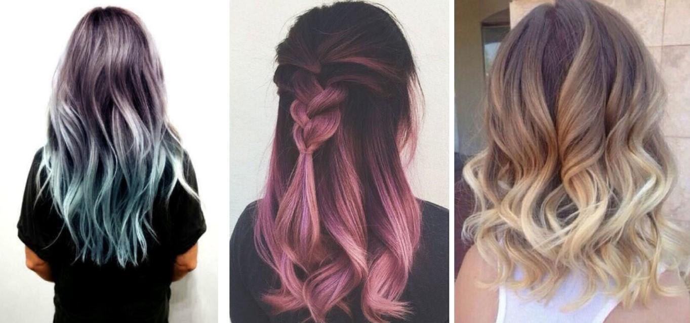 Yeni Saç Trendi Farklı Ombre Saç Renkleri
