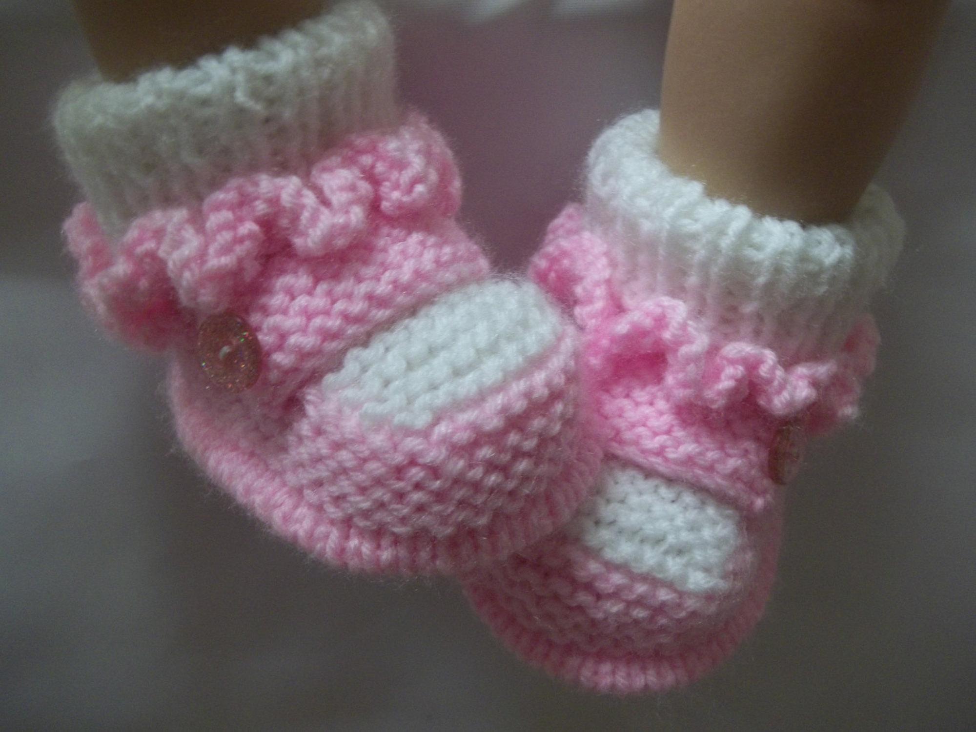 bebek patik yapımı