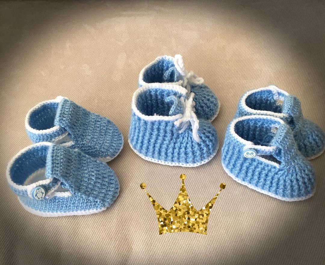2019 yeni doğan bebek patik örnekleri