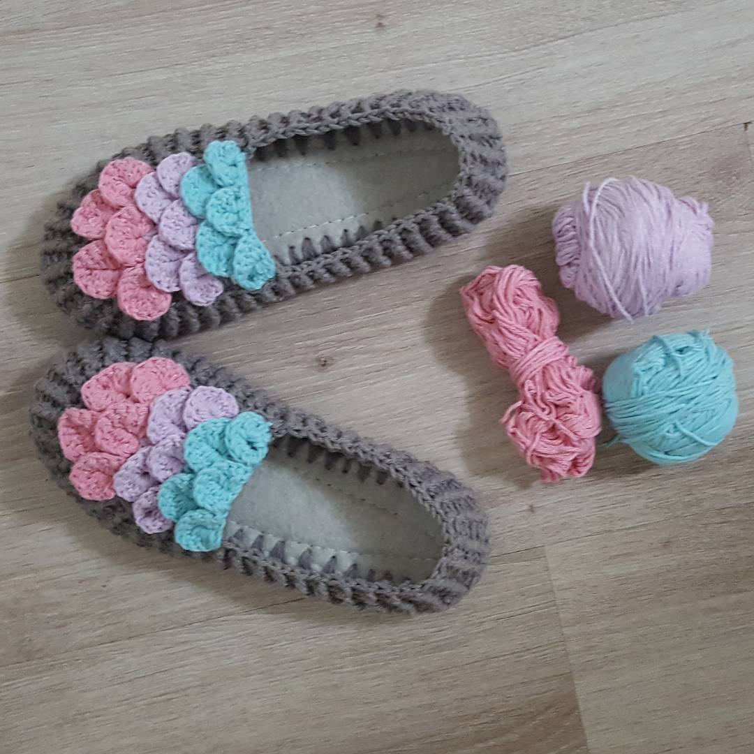 Örgü Bebek Sandalet Modelleri