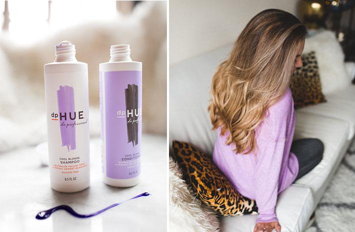 mor şampuan öncesi ve sonrası