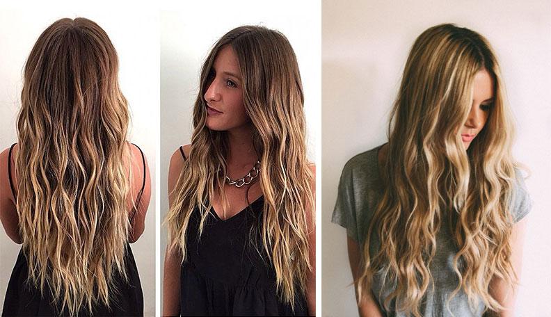 su dalgası saç modelleri