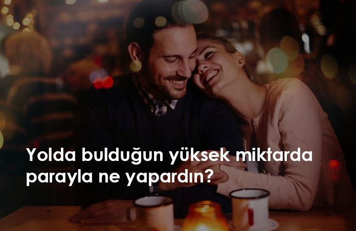 sevgiliye soru