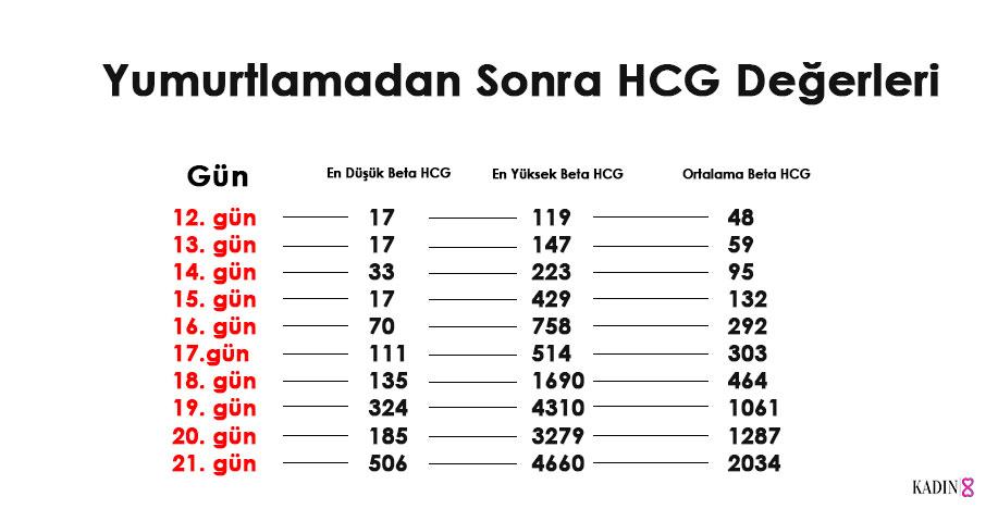 beta hcg değeri