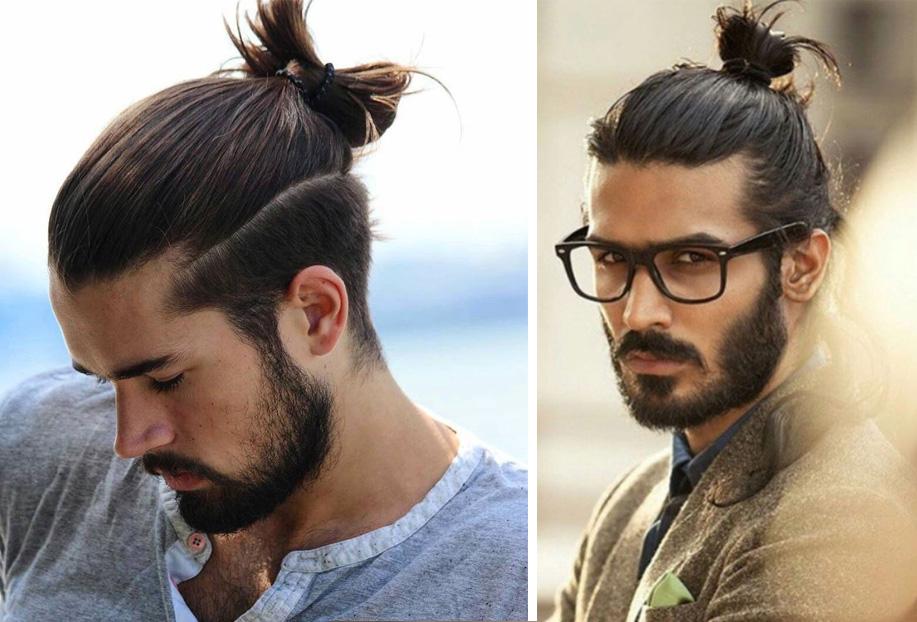 topuz erkek saç modeli
