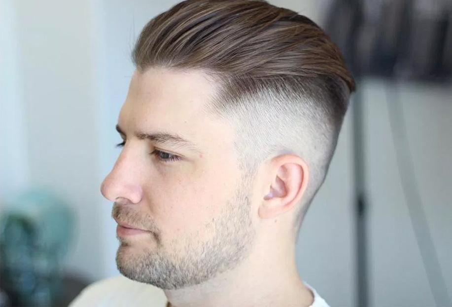 undercut erkek saç modeli